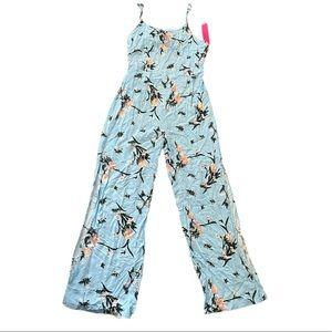 🎉2X HP🎉 NWT Floral Print Jumpsuit/ Jumper